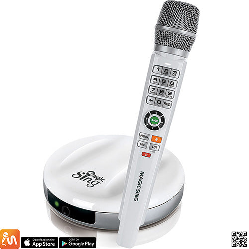 Magic Sing Karaoke E2 with wireless microphone from US Karaoke