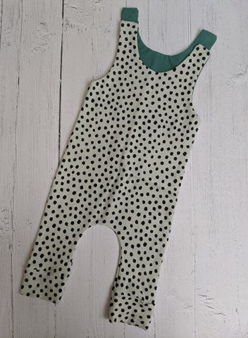 3-6 month spotty dungarees