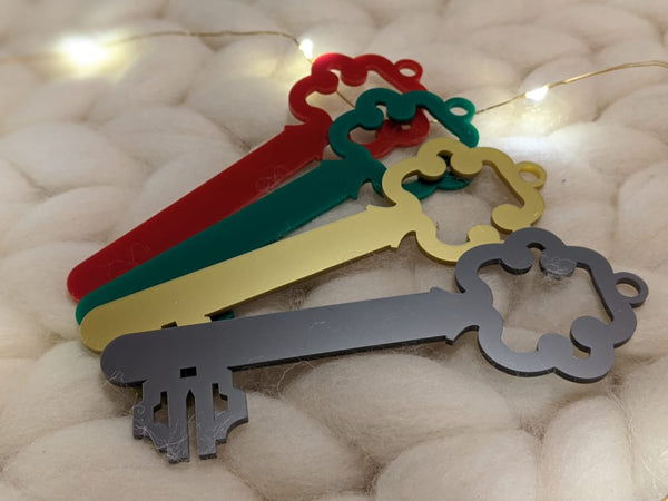 Santa Keys- Personalised with name
