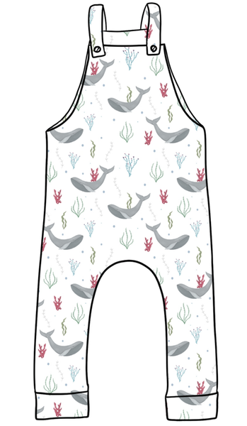 'Under the Sea' Dungarees