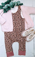 Leopard Print Dungarees