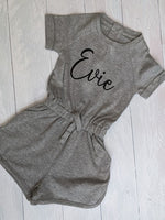 Personalised Play Suit with pockets!