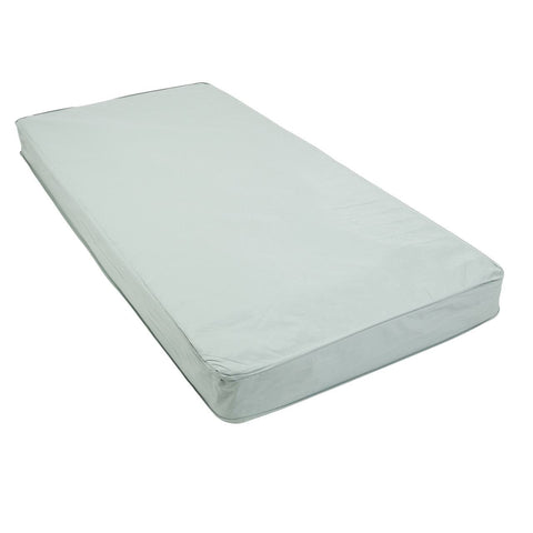 Drive Delta Ultra-Light, Semi-Electric Bed - Full Rails and Therapeutic Support Mattress