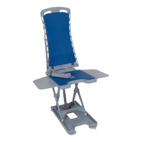 Image of Drive Medical Whisper Ultra Quiet Bathtub Lift - Blue