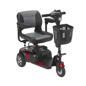 Drive Phoenix 3-Wheel Heavy-Duty Power Mobility Scooter - Red & Blue