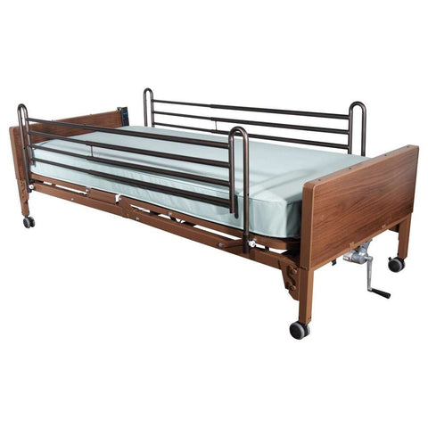 Image of Drive Delta Ultra-Light Full Electric Bed - Full Rails and Innerspring Mattress