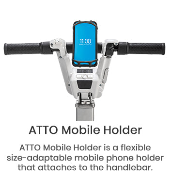 Image of ATTO Three Wheel Lightweight Travel Folding Mobility Scooter - Airline Approved - Get $200 In FREE Accessories