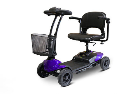 Image of EWheels Medical EW-M35 Lightweight Four Wheel Portable Travel Mobility Scooter - Get $50 In Free Accessories