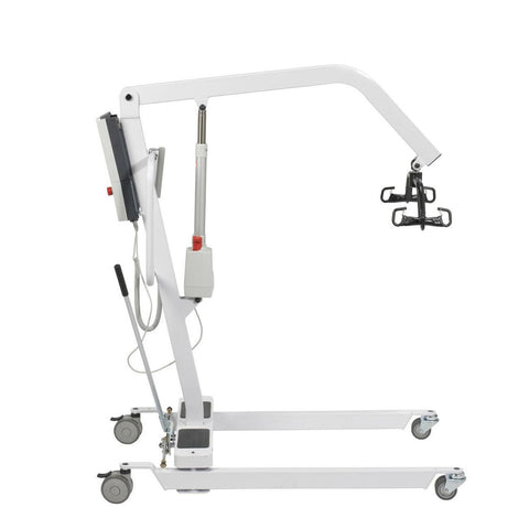 Image of Drive Battery Powered Electric Patient Lift with Rechargeable and Removable Battery - Patient Lift With Wall Mount