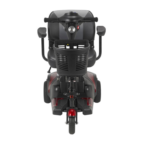 Image of Drive Phoenix 3-Wheel Heavy-Duty Power Mobility Scooter - Red & Blue