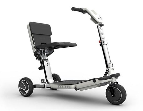 ATTO Three Wheel Lightweight Travel Folding Mobility Scooter - Airline Approved - Get $200 In FREE Accessories