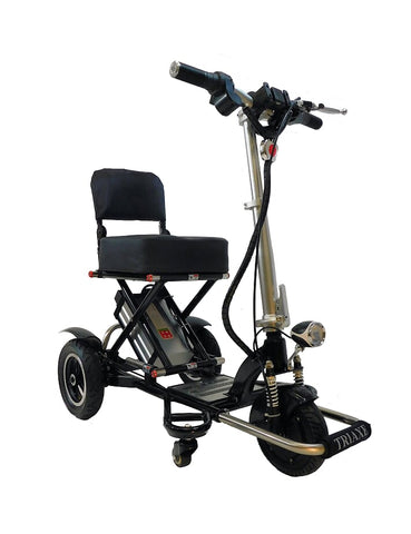 Image of Triaxe Sport Folding Portable Travel Mobility Scooter - Get 2 Free Accessories