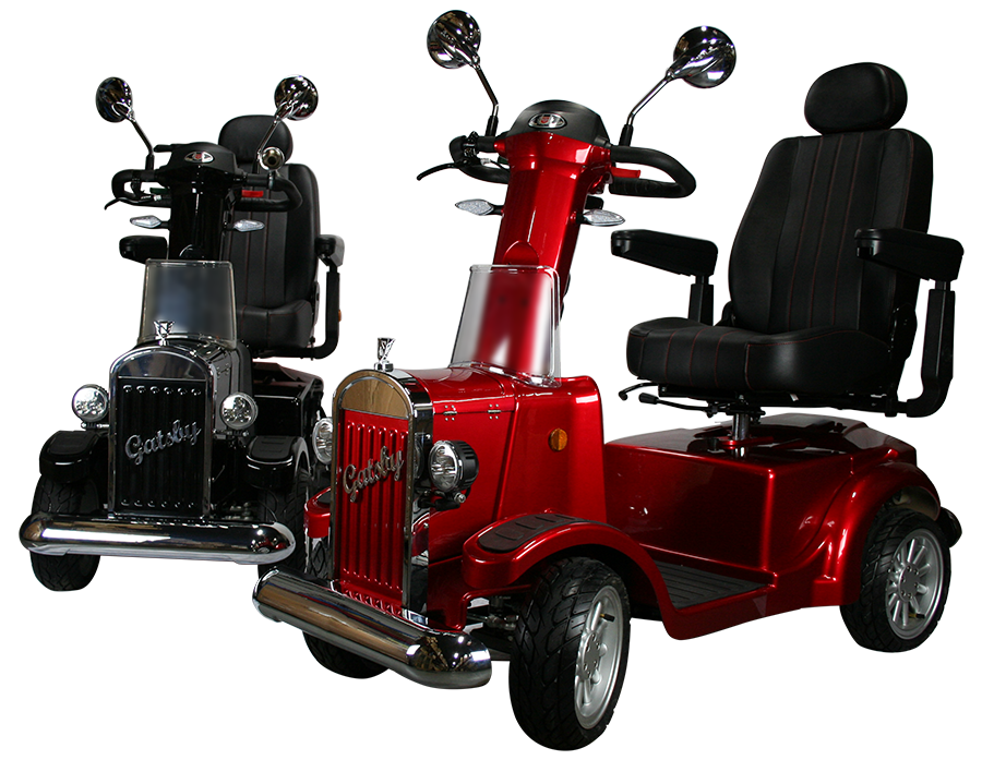 Gatsby X 4 Wheel Heavy Duty Mobility Scooter by Vintage Vehicles USA