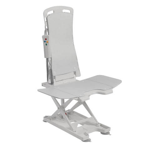 Image of Drive Bellavita Auto Bath Tub Chair Seat Lift - White
