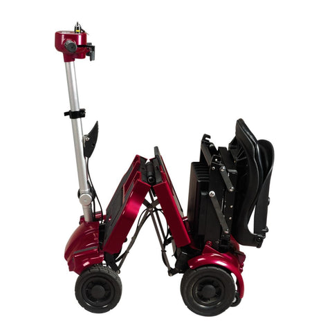 iLIVING i3 Foldable Electric Mobility Scooter  - Red
