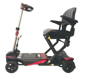 Transformer Four Wheel Electric Automatic Folding Mobility Scooter With Remote - Airline Approved