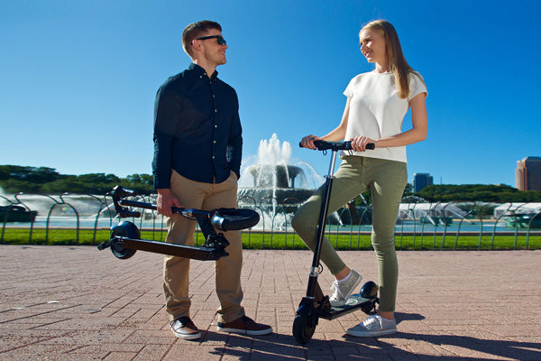Glion Dolly 215 Foldable Lightweight Adult Electric Stand-Up Scooter