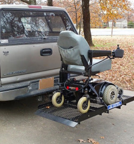 "Mobility Scooter/Power Wheelchair Auto Fold Up Electric Carrier 32"" X 60"""