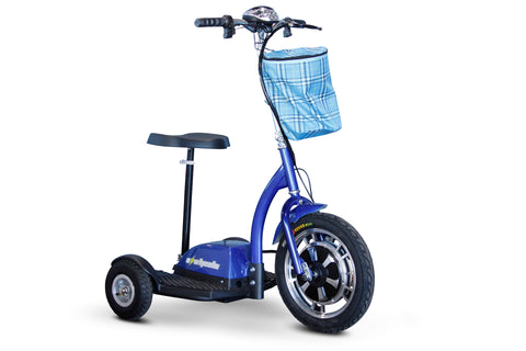 Image of EWheels EW-18 (Stand-N-Ride) Three Wheel Mobility Scooter