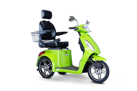 Image of EWheels EW-36 Three Wheel Mid-Size Power Mobility Scooter - Get $50 In Free Accessories
