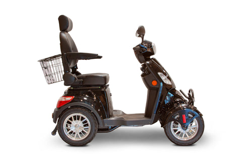 Image of EWheels EW-46 Four Wheel Heavy Duty Mobility Scooter (with Electromagnetic Brakes) - Get $50 In Free Accessories