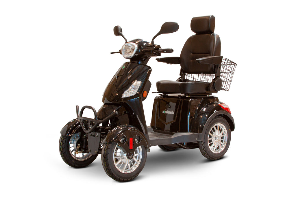 EWheels EW-46 Four Wheel Heavy Duty Mobility Scooter (with Electromagnetic Brakes) - Get $50 In Free Accessories