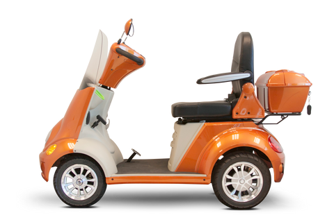 EWheels EW-52 Four Wheel Heavy Duty Mobility Scooter - Get $50 In Free Accessories