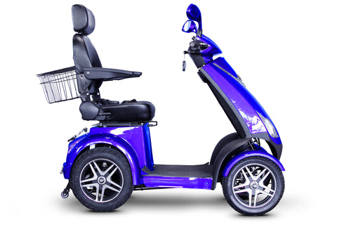 Image of EWheels EW-72 Four Wheel Heavy Duty Mobility Scooter (with Electromagnetic Brakes) - Get $50 In Free Accessories