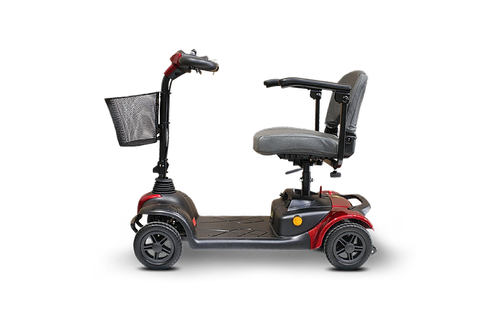 EWheels Medical EW-M39 Four Wheel Portable Travel Mobility Scooter With Luxurious Seat