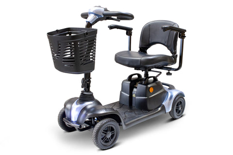 Image of EWheels Medical EW-M39 Four Wheel Portable Travel Mobility Scooter With Luxurious Seat - Get $50 In Free Accessories