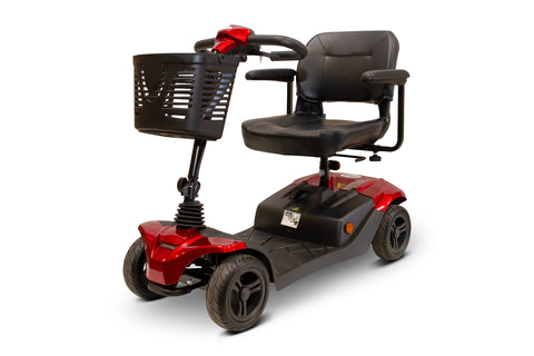 Image of EWheels Medical EW-M41 Four Wheel Portable Travel Mobility Scooter With Executive Swivel Seat - Get $50 In Free Accessories