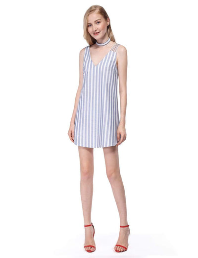 Alisa Pan Short Striped Summer Dress