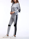 Comfortable Unique Track Suit For Women With Long Sleeve-Grey 3
