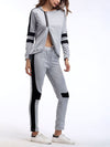Comfortable Unique Track Suit For Women With Long Sleeve-Grey 4