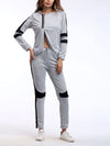 Comfortable Unique Track Suit For Women With Long Sleeve-Grey 1