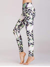Skinny Printed Quick-Drying Yoga Sports Leggings-Multicolor 2