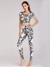 Skinny Printed Quick-Drying Yoga Sports Leggings-Multicolor 3