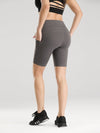 Women'S Tight Quick-Drying Sports Leggings For Yoga-Deep Grey 1