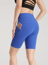 Women'S Tight Quick-Drying Sports Leggings For Yoga-Sapphire Blue 3