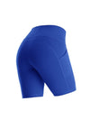 Women'S Tight Quick-Drying Sports Leggings For Yoga-Sapphire Blue 4