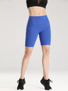 Women'S Tight Quick-Drying Sports Leggings For Yoga-Sapphire Blue 1