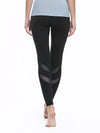 Comfy Quick-Drying Full-Length Sports Leggings-Black 2