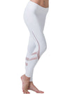 Comfy Quick-Drying Full-Length Sports Leggings-White 3