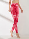 Women'S Exercise Comfy Tie-Dye Leggings For Sports-Pink 3