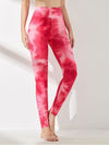 Women'S Exercise Comfy Tie-Dye Leggings For Sports-Pink 4