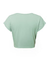 Women'S Casual Solid Cotton Spring Summer Holiday T-Shirt-Green 3