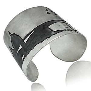 SAINT PAUL WIDE CUFF BRACELET
