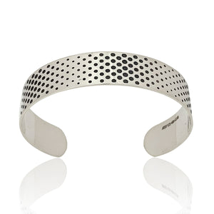 dots silver cuff frontal