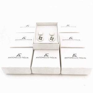 TRIANGLE EARRINGS - Antonello Figlia