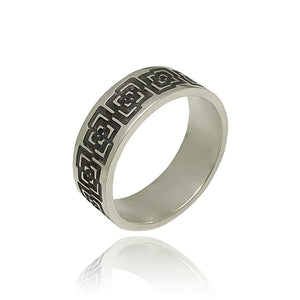 Unisex-Geometric-Design-Ring- By Antonello Figlia